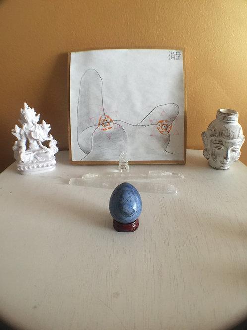 Lapis Lazuli Yoni Egg