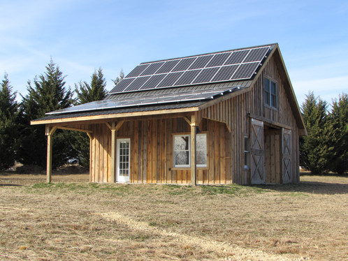 Solar panels installed by Alt Energy of Staunton