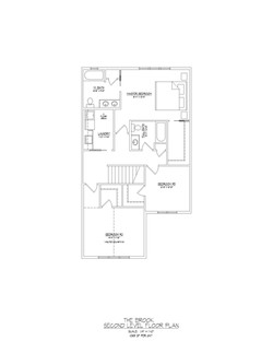 Brook     Second Floor     1065 sqft