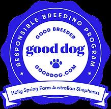 goodbreederbadge, gooddog