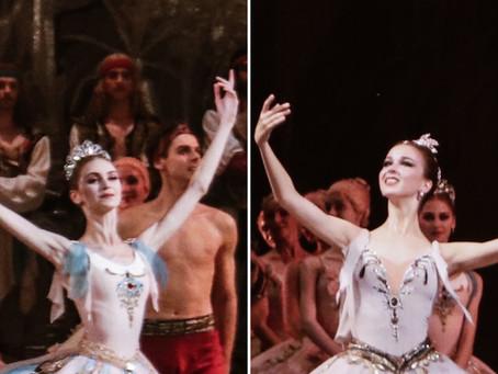 Корсар в Мариинском: блестящие дебюты Дарьи Ионовой и Марии Ильюшкиной
