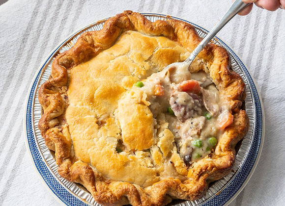 """9"""" Chicken Pot Pie"""