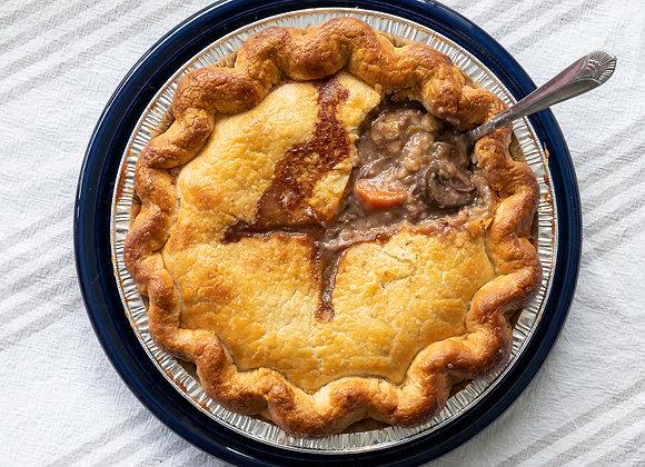 """9"""" Beef & Mushroom Pot Pie"""