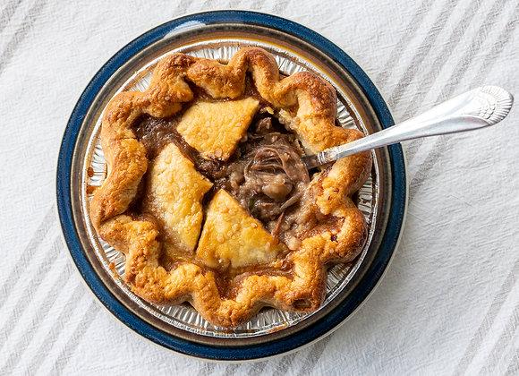 """6"""" Beef & Mushroom Pot Pie"""
