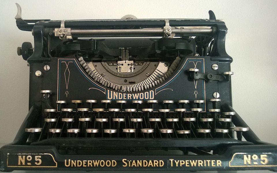 Underwood No 5 Typewriter