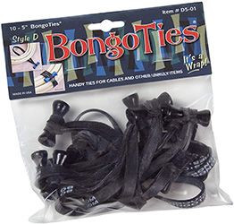 BongoTies tie-wraps for cables and more