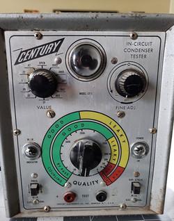Century In-Circuit Condenser Tester