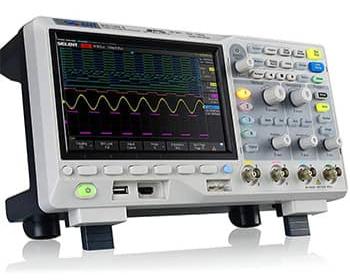The Siglent SDS1104X-E Oscilloscope