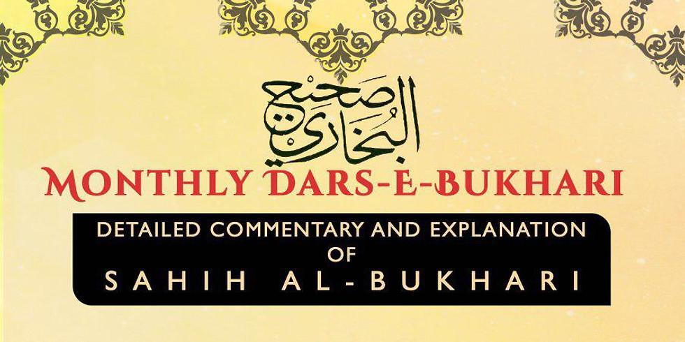 Monthly Dars-e-Bukhari - Instructor: Shaykh Akhtar Patel