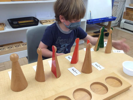 Montessori Monday: The Fraction Materials