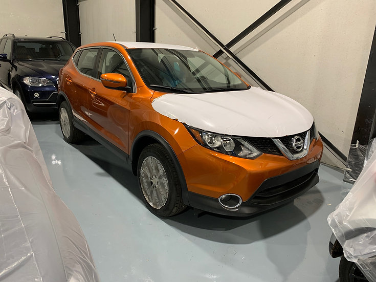 Nissan Qashqai Rogue USA model