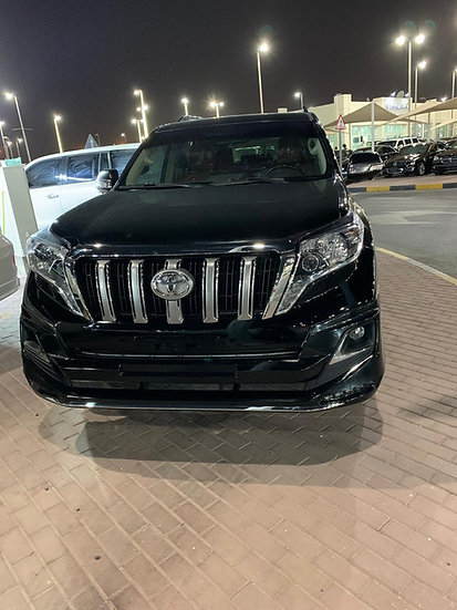 Toyota Prado V6 Petrol engine model 2014