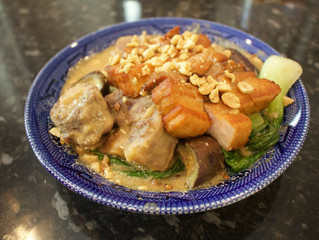 Kare Kare - Oxtail and Peanut stew