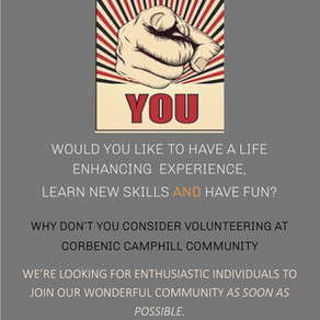 Volunteer at Corbenic