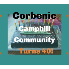 Corbenic Camphill Turns 40!