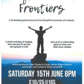 Fundraising Concert at the Birnam Institute in Aid of Corbenic!