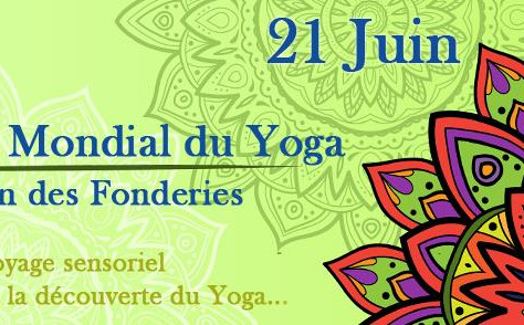 Journée Mondiale Du Yoga à Nantes au Jardin des Fonderies