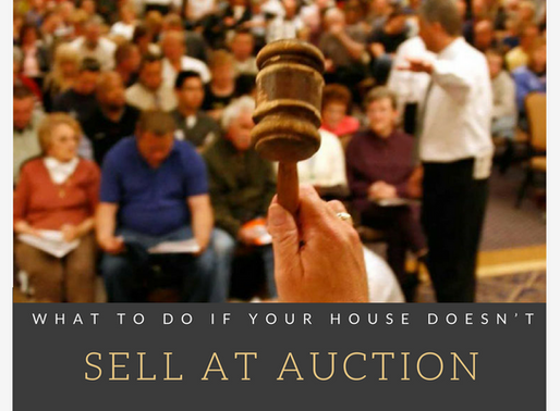 What to do if your house doesn't sell at auction