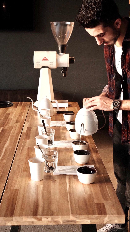 Sensory/Coffee Tasting
