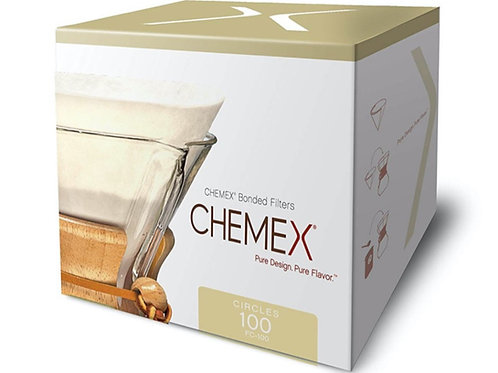 Chemex Bonded Filters Pre-Folded Circles 6 Cup