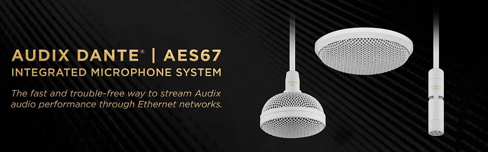 Audix Dante AES67