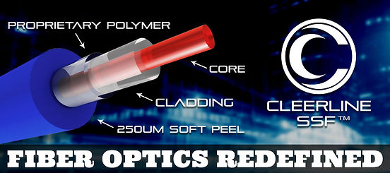 Cleerline optic fiber