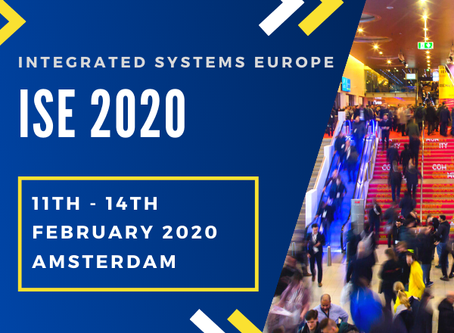 Save the Date for ISE 2020!