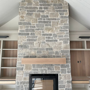 Grand Tetons Fireplace