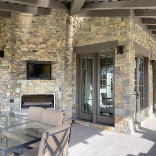 Timbercreek Ledge Outdoor Fireplace
