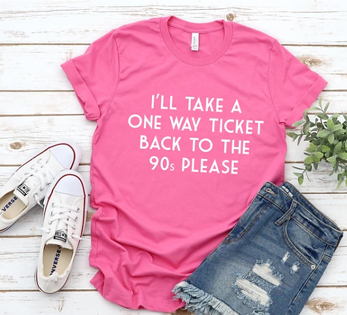 ONE WAY TICKET TEE