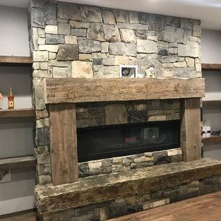 Snake River Fireplace