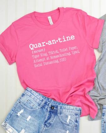 QUAR-AN-TINE TEE