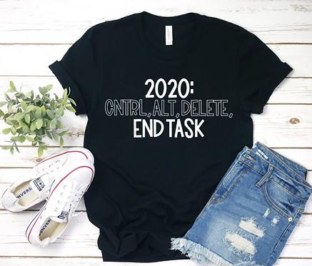 2020 END TASK TEE