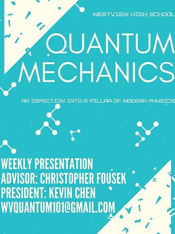 Quantum Mechanics Club