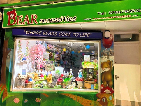 Bear Necessities shop on Main Street, Newcastle, County Down