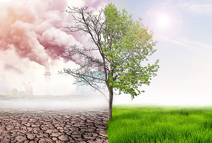 comparing green earth and effect of air