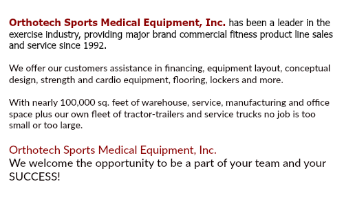 About Orthotech Sports Medical Equipment