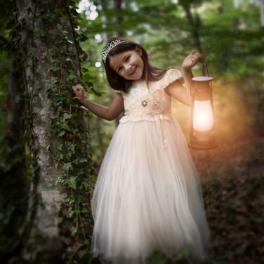 Princesse avec lanterne