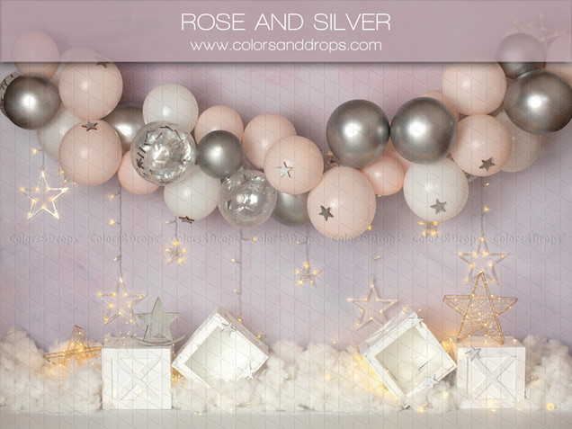 ROSE AND SILVER
