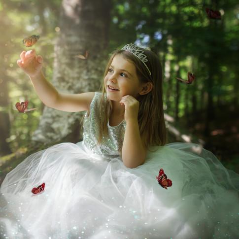 Séance photo princesse