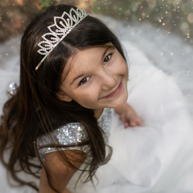 Princesse robe blanche