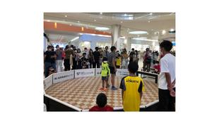 元Jリーガー村田和哉氏のストリートサッカーイベント開催