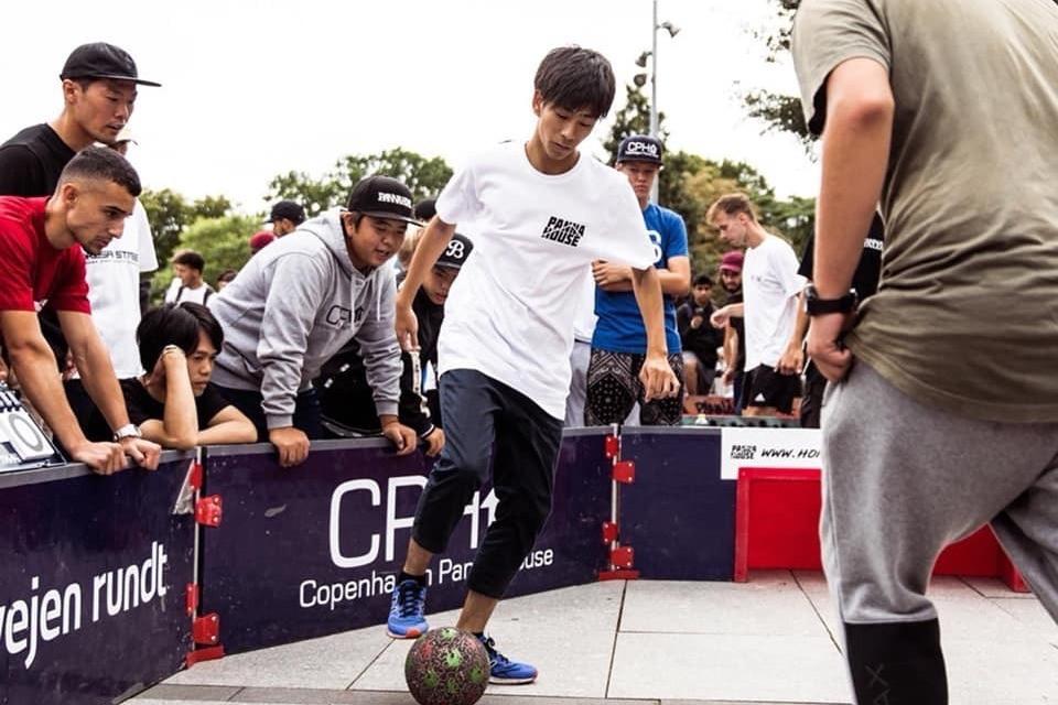 永井佑京選手