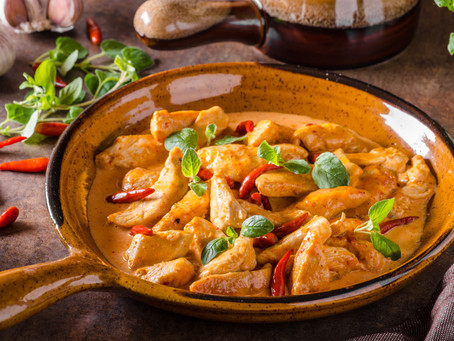 Hungarian Four-Ingredient Red            Curry Chicken