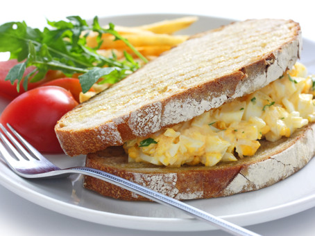 Hungarian Egg Salad Sandwich