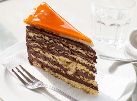 Hungarian Dobos Torte (Drummer Cake)