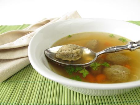 Hungarian Liver Dumpling  Soup