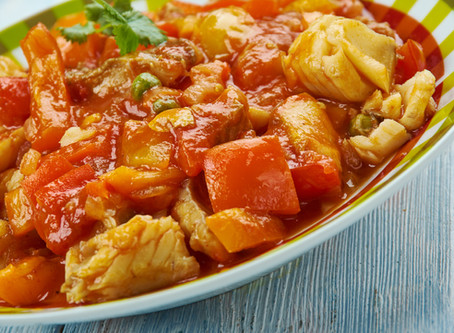 Hungarian Spicy Tilapia Stew