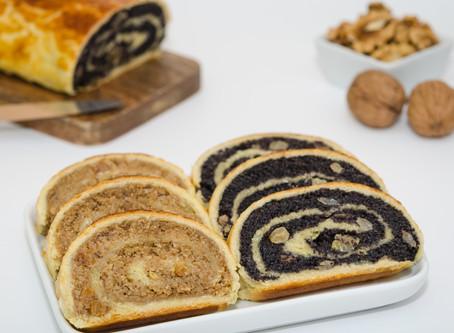 Hungarian Beigli Nut Rolls