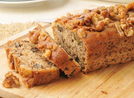 Hungarian Whole Grain Banana       Bread with Wall Nuts